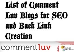 List of HIGH PR BEST Blogs to comment on for SEO and Back Links Creation
